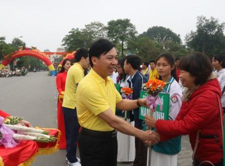Lễ phát động Ngày chạy Olympic vì sức khỏe toàn dân và Giải việt dã tỉnh Nam Định năm 2019