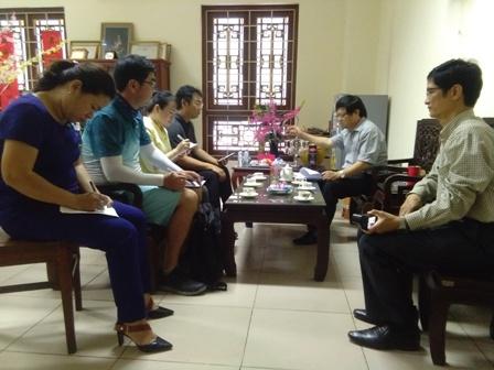 Bảo tàng Lịch sử Quốc gia Việt Nam và Viện Nghiên cứu Di sản văn hóa biển Quốc gia Hàn Quốc nghiên cứu các di tích thương cảng cổ trên địa bàn tỉnh Nam Định
