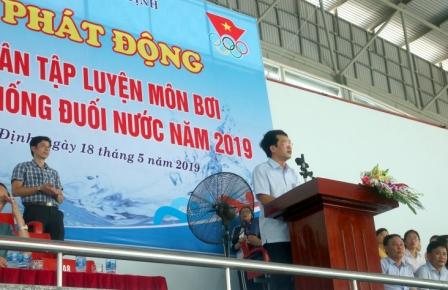 Lễ phát động toàn dân tập luyện môn Bơi phòng, chống đuối nước  tỉnh Nam Định năm 2019