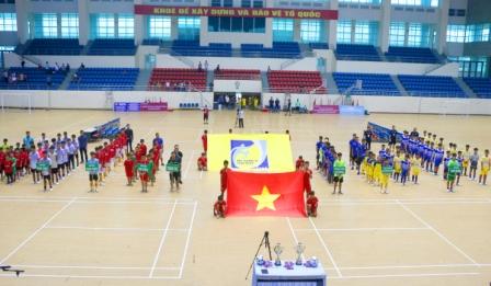 Giải bóng đá Thiếu niên - Nhi đồng tỉnh Nam Định năm 2019