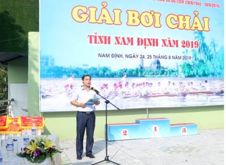 Giải bơi chải tỉnh Nam Định năm 2019