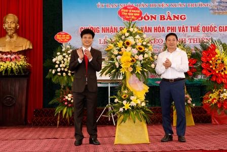 Lễ đón Bằng chứng nhận Di sản Văn hóa phi vật thể quốc gia và Khai mạc Lễ hội chùa Keo Hành Thiện năm Kỷ Hợi - 2019