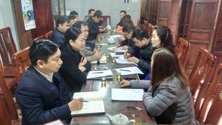 Đoàn công tác của Bộ VHTTDL kiểm tra việc dừng tổ chức lễ hội để tập trung phòng, chống dịch bệnh viêm đường hô hấp cấp do chủng mới của vi rút Corona tại di tích  quốc gia đặc biệt Đền Trần, phường Lộc Vượng, thành phố Nam Định