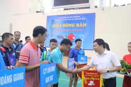 Giải Bóng bàn tỉnh Nam Định năm 2020
