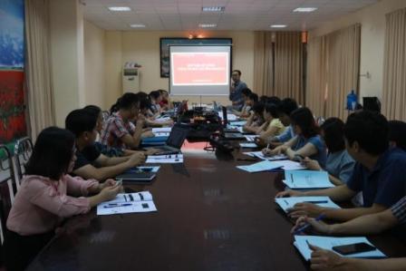 Sở Văn hóa, Thể thao và Du lịch tổ chức hội nghị tuập huấn, đào tạo cho cán bộ làm cán bộ làm công tác quản trị Hệ thống thông tin báo cáo thuộc các phòng QNNN, Đơn vị sự nghiệp trực thuộc Sở VHTTDL