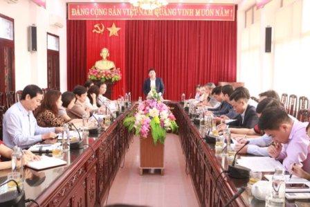 Sở Văn hóa, Thể thao và Du lịch Nam Định ủng hộ đồng bào miền Trung bão lũ