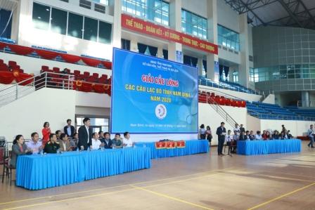 Giải Cầu lông các Câu lạc bộ tỉnh Nam Định năm 2020